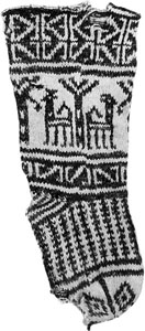 Palmtree Gazelle sock-thumb