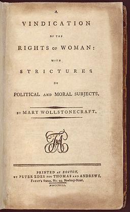 By Mary Wollstonecraft (1759-1797) [Public domain], via Wikimedia Commons