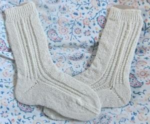 Reha-Socken mit Bandspitze