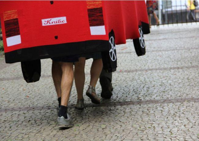 Knitic VW - fußbetrieben, maschinengestrickt