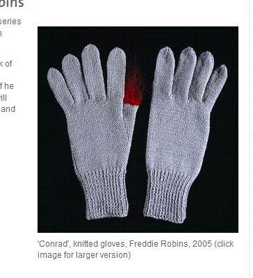 Freddie Robins: Knit a work of art!