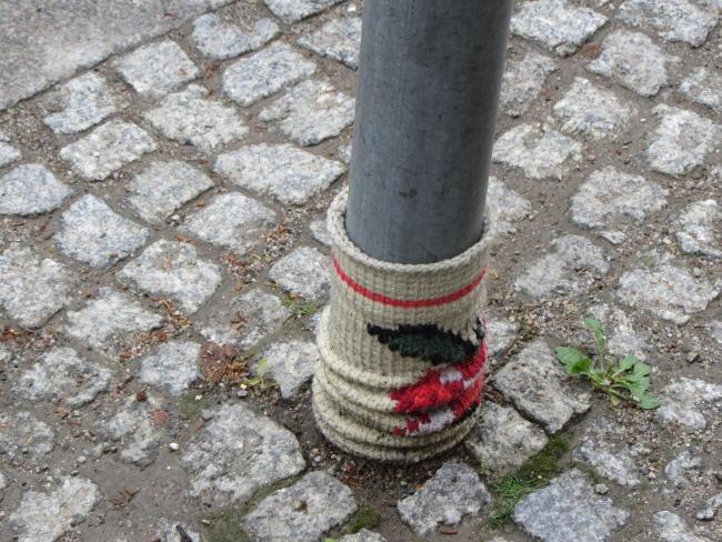 Schlechte Paßform - Verrutschter Socken