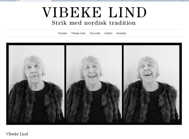 Screenshot: Vibeke Lind