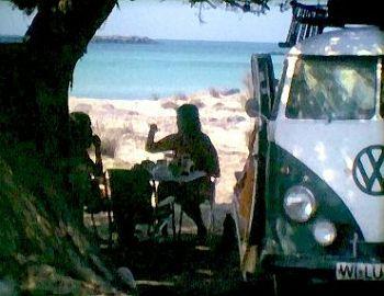 1979 Elafonisi auf Kreta