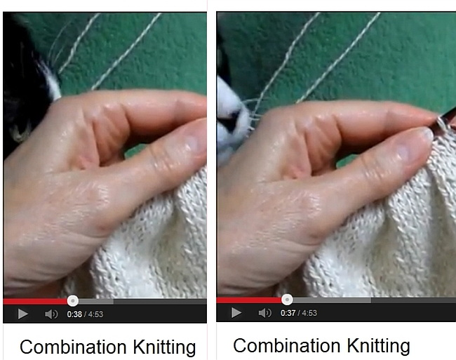 Knitting Eastern European Style : Wockensolle continental knitting german style