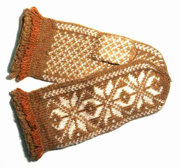 Handschuhpaar aus Lettland