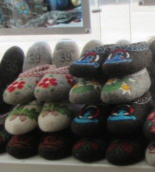 Pantoffeln aus Kostroma