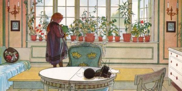 Carl Larsson: Blumenfenster