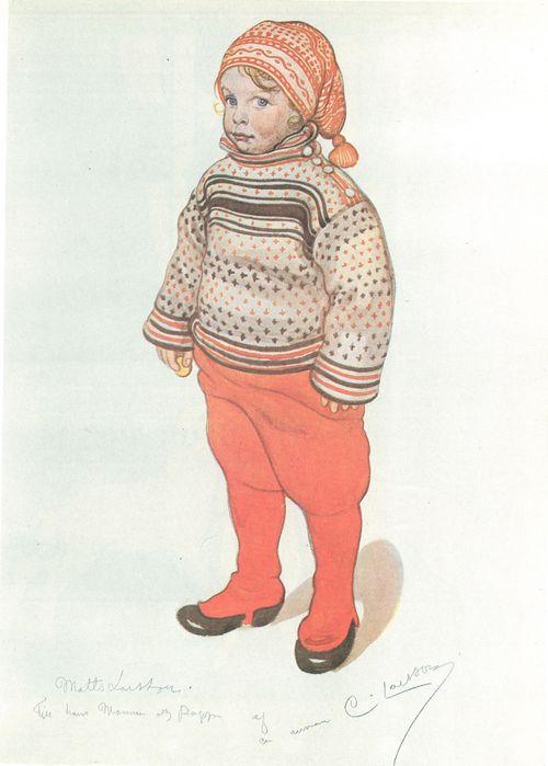 Carl Larsson: Matts