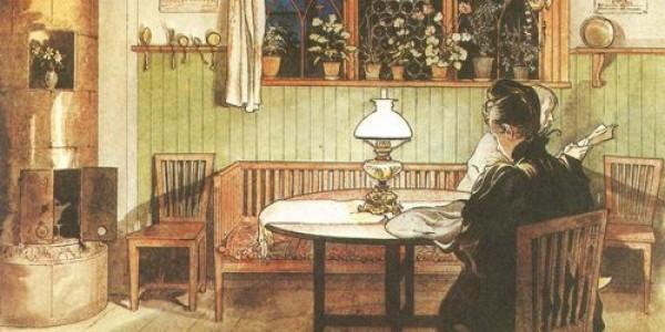 Carl Larsson: Wenn die Kinder zu Bett gegangen sind