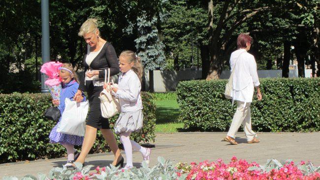 Erster Schultag in Riga