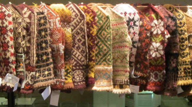 Lettische Handschuhe