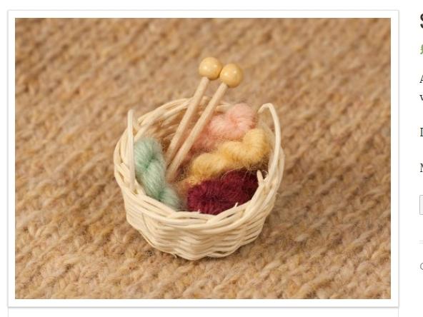 Die Yarn-Stash-Brosche von Max Alexander