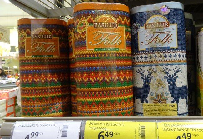 """Tee aus der """"Knitted Folk Collection"""""""