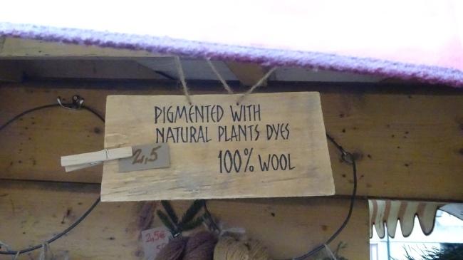 Mit natürlichen Pflanzenextrakten pigmentiert