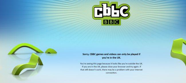 CBBC: nur für UK