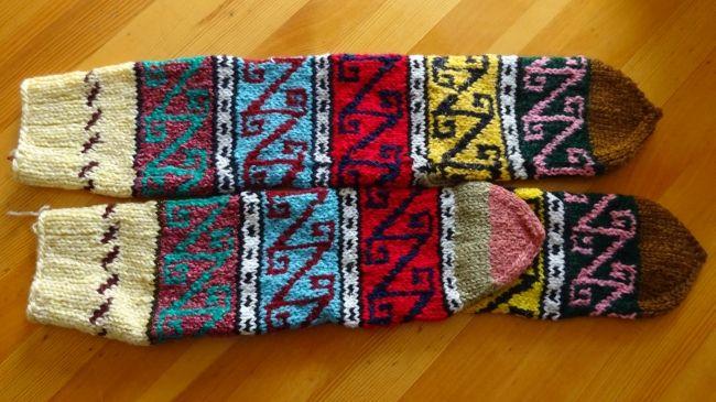 Türkische Souvenir-Socken