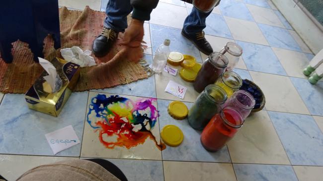 Beim Pigmenthändler