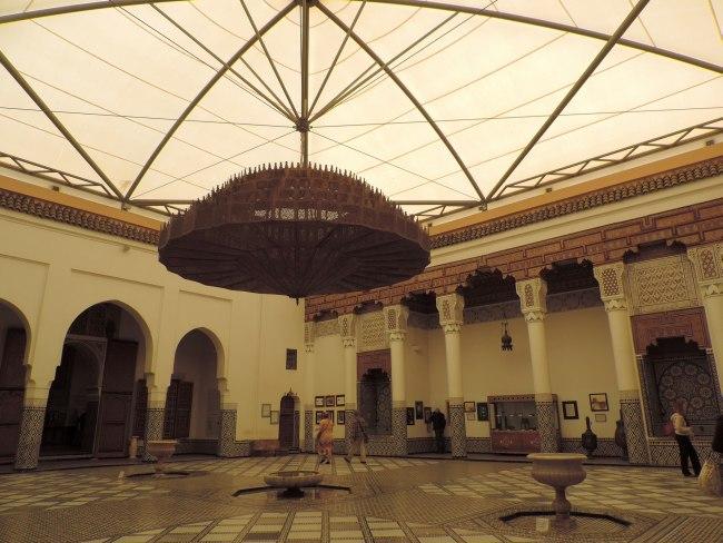 Innenhof des Musée de Marrakech