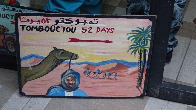 52 Tage bis Timbuktu