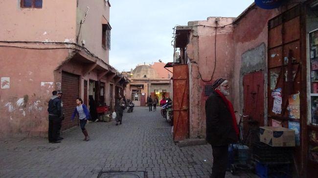 In der Kasbah von Marrakesch