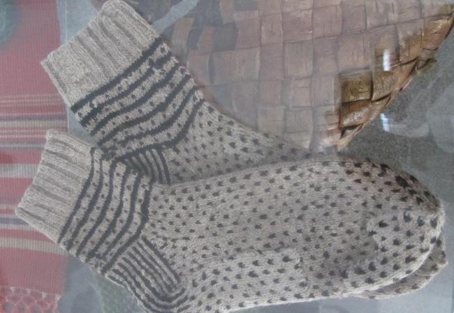 Socken im litauischen Nationalmuseum, Vilnius