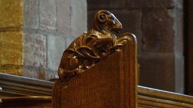 Kirkwall, in der St. Magnus Kathedrale