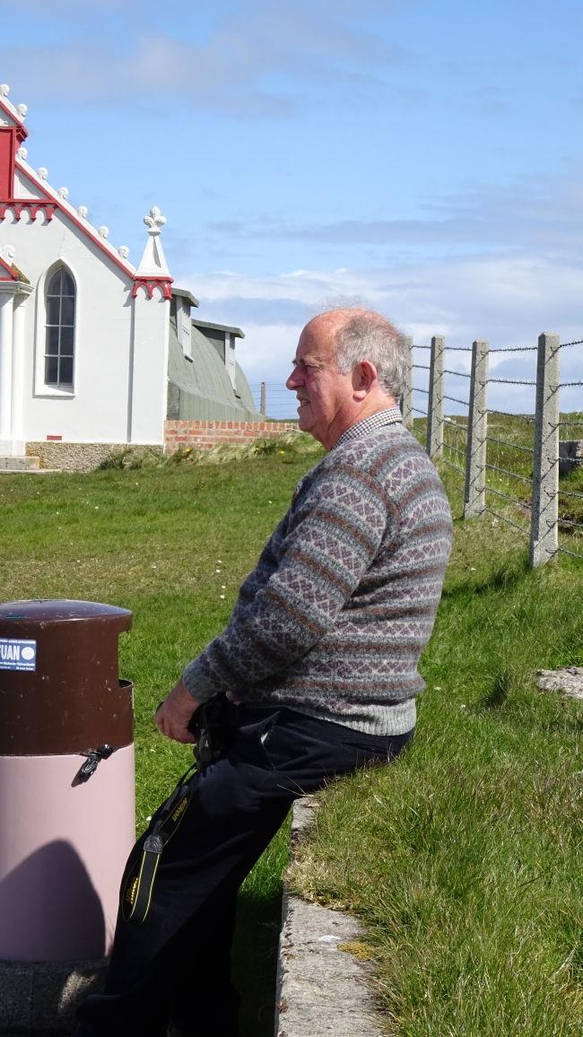 """Der erste """"Fair Isle"""" - Pullover auf meiner Reise"""