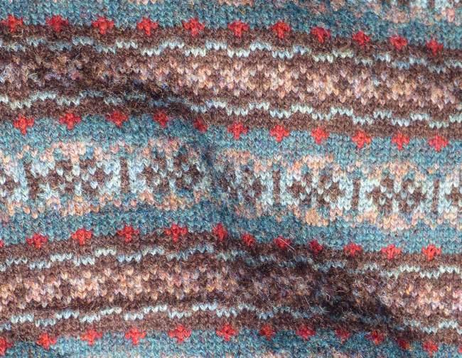 Barbara Isbister Knitwear: Muster meiner Jacke
