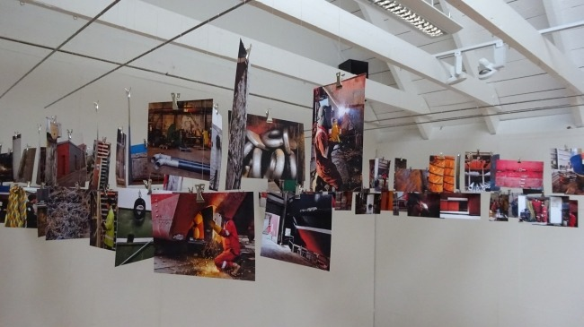Susan Timmins' Arbeit in der Bonhoga-Galerie