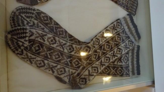 Socken im Shetland Museum