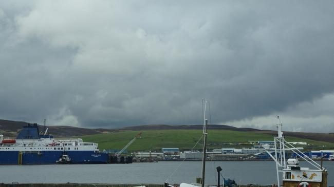 Im Hafen von Lerwick