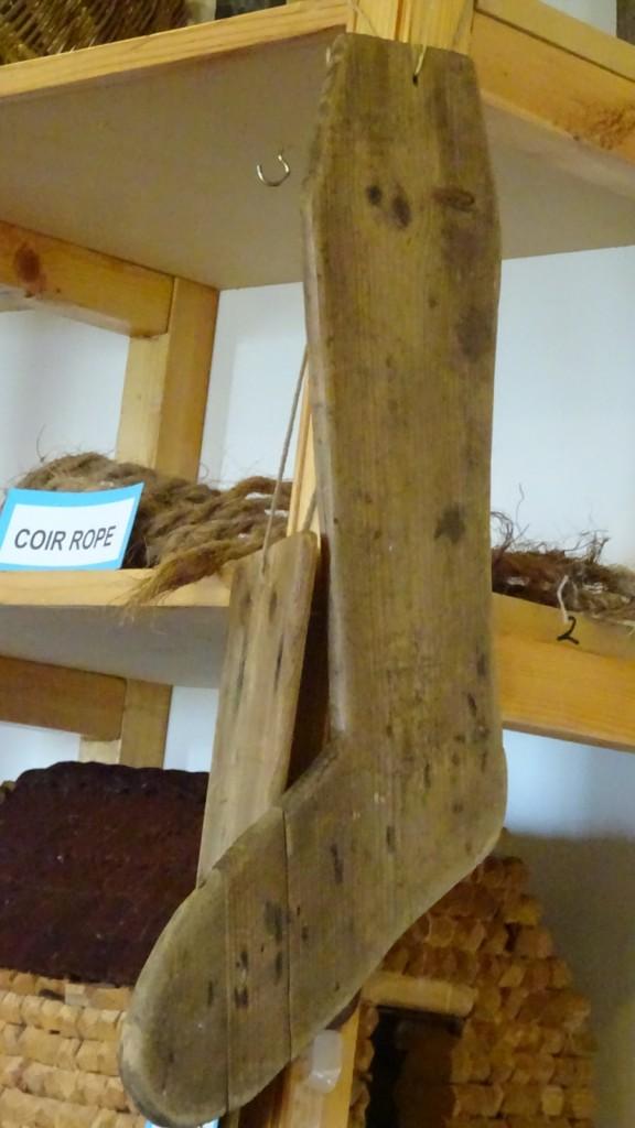 SockBoard im Tangwick Haa Museum