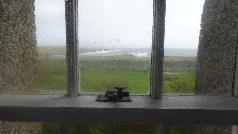Blick aus dem Museumsfenster