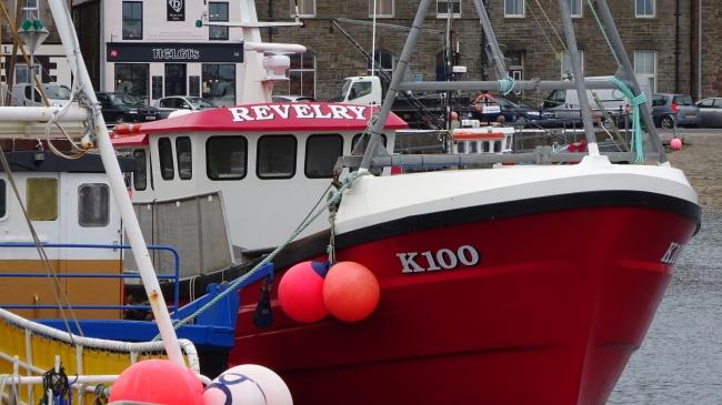 Im Hafen von Kirkwall
