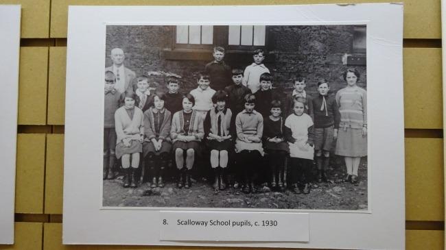 Schüler aus Scalloway in den Dreißigern