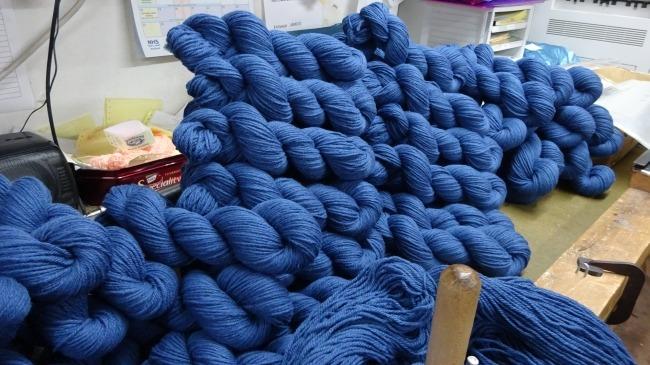 Jamieson's of Shetland, Aran blue