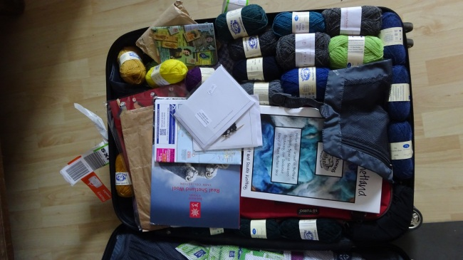 Shetland-Koffer