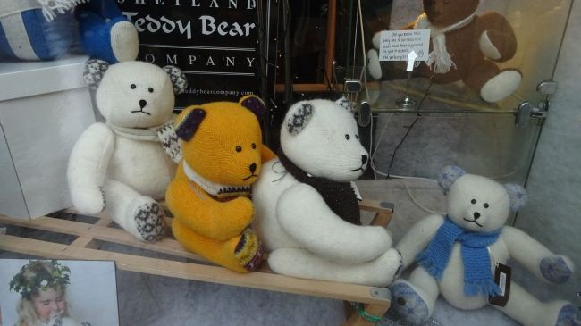 Teddy Bears, not quite Fair Isle
