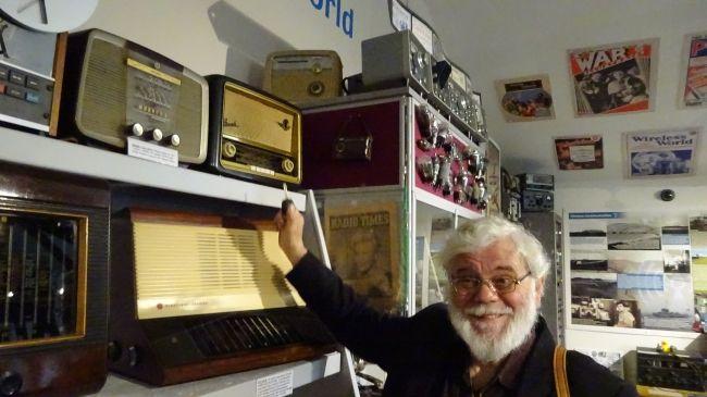 Radio Sammlung in Howick
