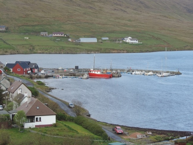 Voe auf Shetland