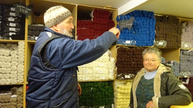 Jamieson and Smith Shetland Woolbrokers