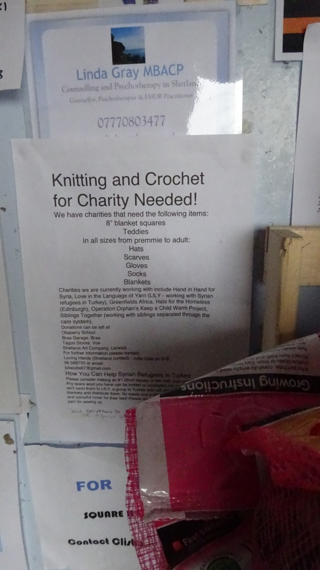 Knitting and Crochet needed!