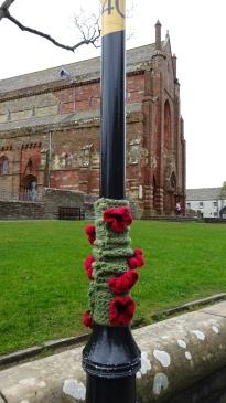 Yarnbombing in Kirkwall