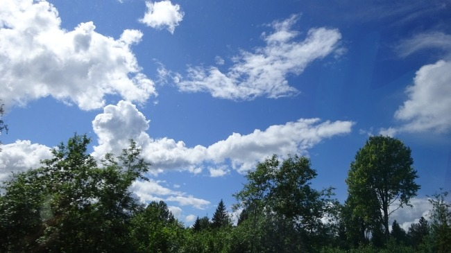 Himmel über Estland