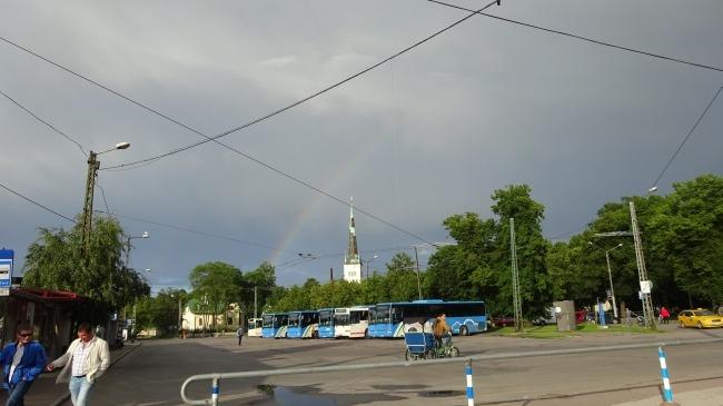 Regenbogen in Tallinn