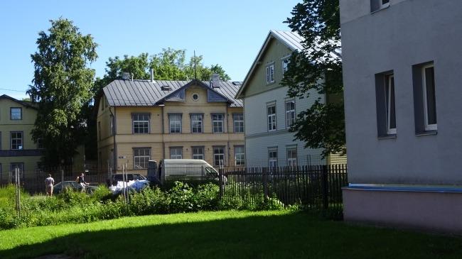 In Tallinn auf dem Weg zum Wasser