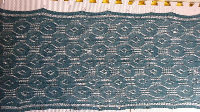 Blaugrünes Tuch