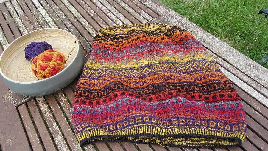 Die Wockensolle-Regenbogen-Jacke