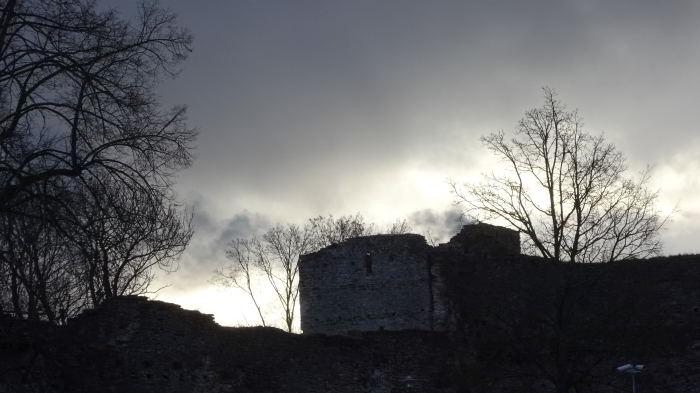 Die Burg von Haapsalu